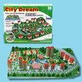Sonho da cidade Regional Tijolo DIY Kits Modelo de Construção
