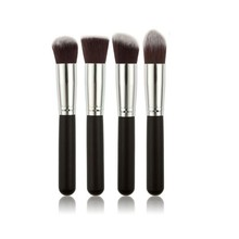 4 pcs/set High Quality Makeup Brushes Beauty Cosmetics Foundation Blending Blush Make up Brush tool Kit