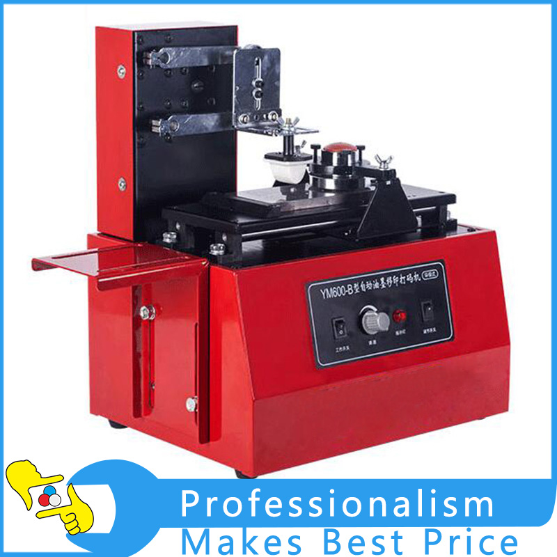 Free Shipping YM600-B Electric Automatic Ink Printing Machine Digital Printing Machine Trademark Plate Printing 220V/110V haitai b 600 digital high precision automatic constant tension controller for printing and textile