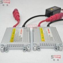 2X HID xenon lastre delgado 12 v 35 w bloques ignitor reactor ballastro para fuente de luz de la linterna del coche H4 H7 H11 H3 xenon lastre 35 w