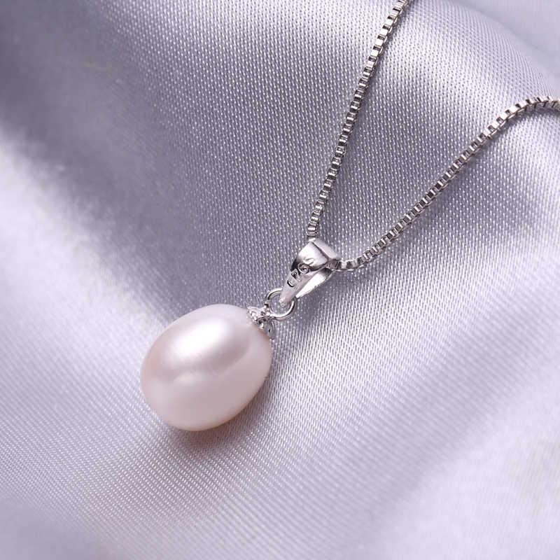 FENASY パールジュエリーセット、販売 925 スターリングシルバージュエリーセット fashon イヤリング天然真珠の宝石ギフトボックス