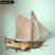 Modelo de nave Kit Tren Afición Barco De Madera Modelo 3d Laser Cut escala 1/80 Real de Holanda de Yates Y Barcos Yate Bricolaje Kits Modelo