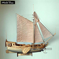 Ship Model Kit Train Hobby Wooden Ship Model 3d Laser Cut Scale 1/80 Royal Netherlands Yacht And Boats Diy Yacht Model Kits