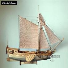 Royal Netherlands Yacht Scale 1/80 Wooden Ship Model Kit