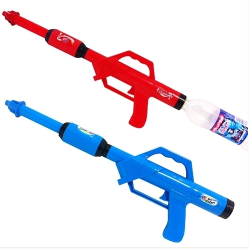2018 New Long Pump Bottle Water Guns Toys Summer Beach Drifting Powerful Squirt Gun Water Blaster Cannon Toy