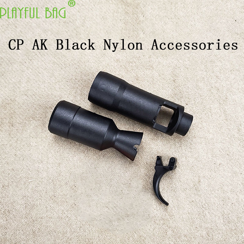 Outdoor Activity CS CP AK105 AK74M Nylon Black Small Parts Trigger Black Decorator Water Bullet Gun Accessories  MI62