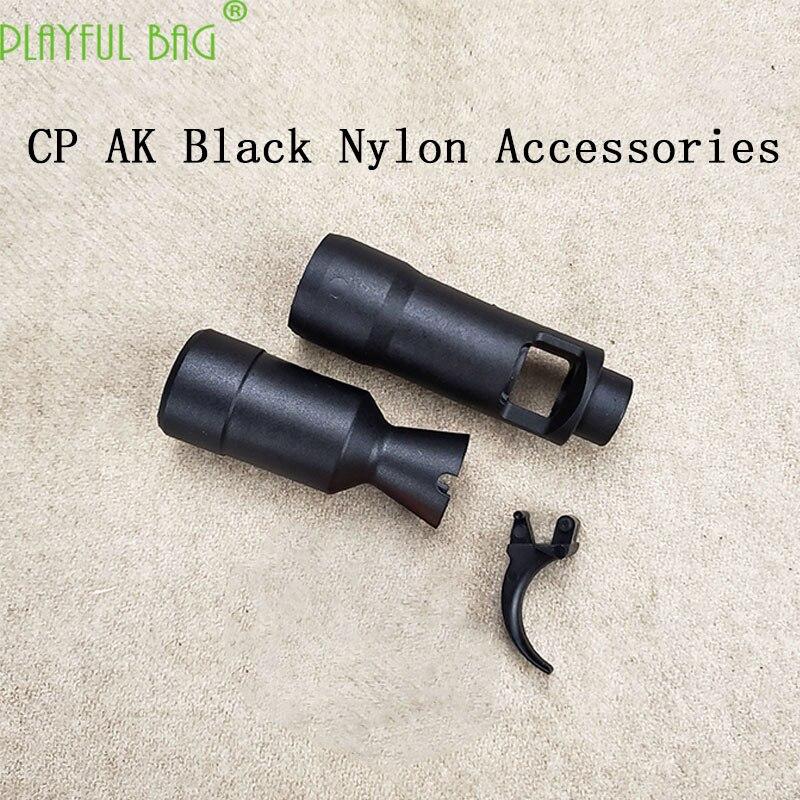 Outdoor Activity CS CP AK105 AK74M Nylon Black Small Parts Trigger Black Decorator Water Bullet Gun Accessories  MI62
