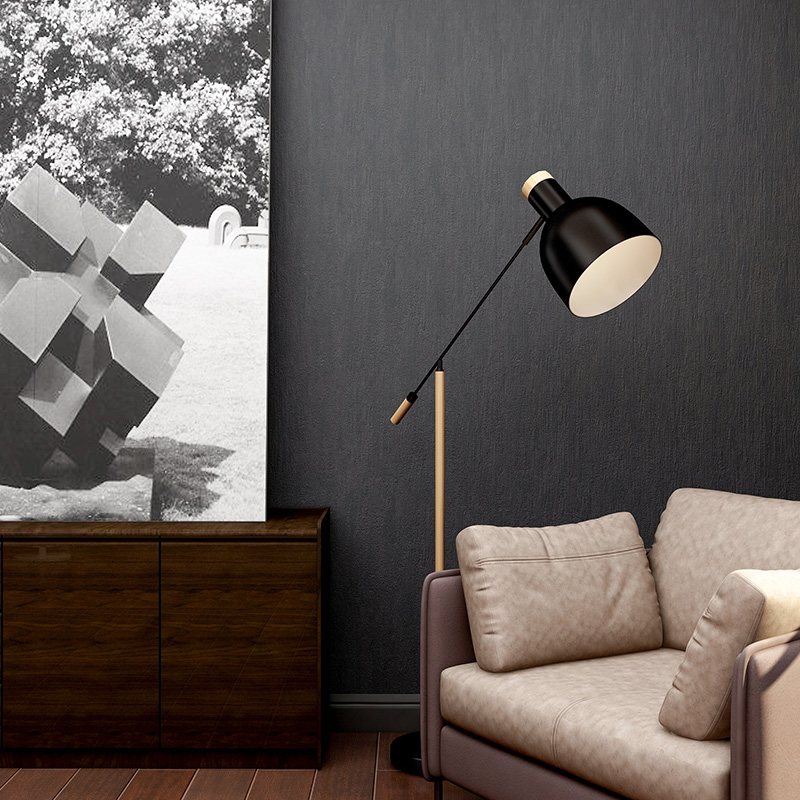 Купить с кэшбэком Modern Solid Color Loft Wallpapers Home Decor Nordic PVC Wall Paper Roll Living Room Bedroom Walls vinilos pared Contact Paper