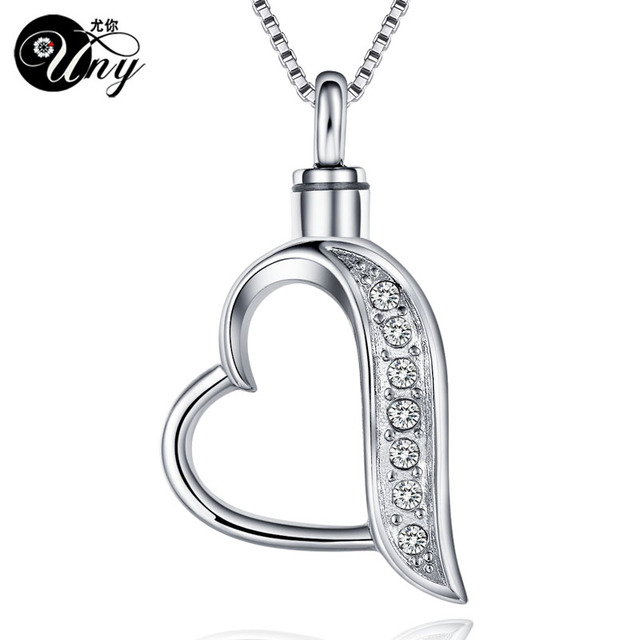 sale keepsake stainless cremation memorial ash shipping uny steel urn free hot necklace pendant heart jewelry products