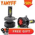 YAMYFF Canbus Car Headlight H4 LED H7 H11 Auto Lamps Bulbs 4300K 8000K 6000K 3000K Car Lights H1 H3 H27 9005 9006 Car Fog Lamp