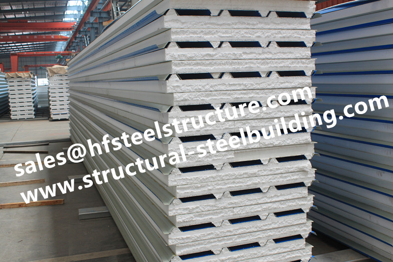 US $250 0 |Fire resistant EPS/ PU sandwich insulation panel from China  manufacturer used in wall and roof, cold room panel-in Door & Window Frames