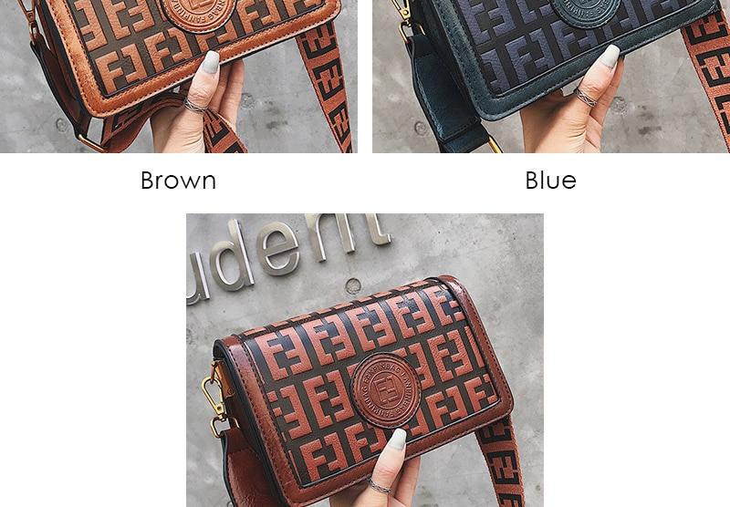 2019 Sac Femme Luxury Handbags Women Bags Designer Leather Crossbody Bag For Women Shoulder Bag Ladies Messenger Bags Letter (5)