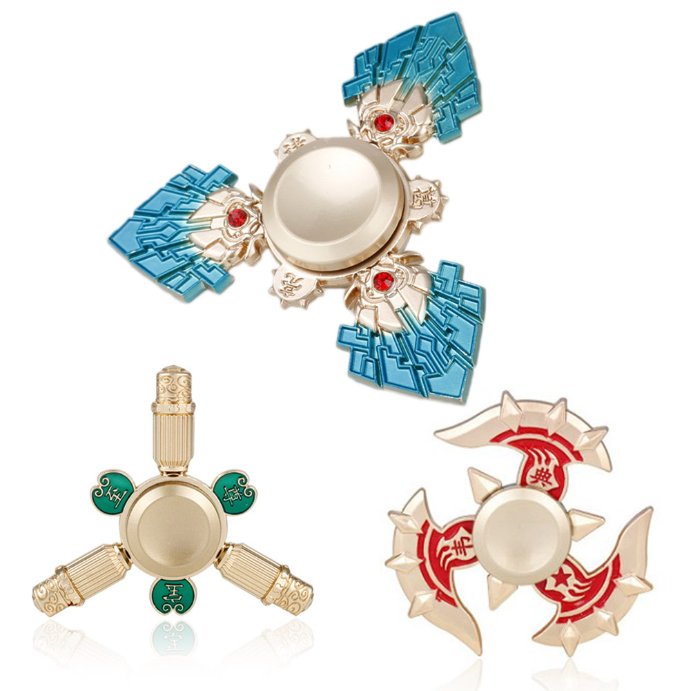 Hand Spiner Spinner Toy Top Metallic Materials Ball Bearing Day Gift Rotation Long Time
