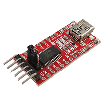 50 pcs FT232RL FT232 FTDI USB ไปยัง TTL 3.3 V 5.5 V Series Adapter ดาวน์โหลดโมดูลสำหรับ Mini พอร์ต