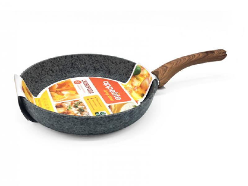 Frying Pan APPETITE, GREY STONE, 28 cm