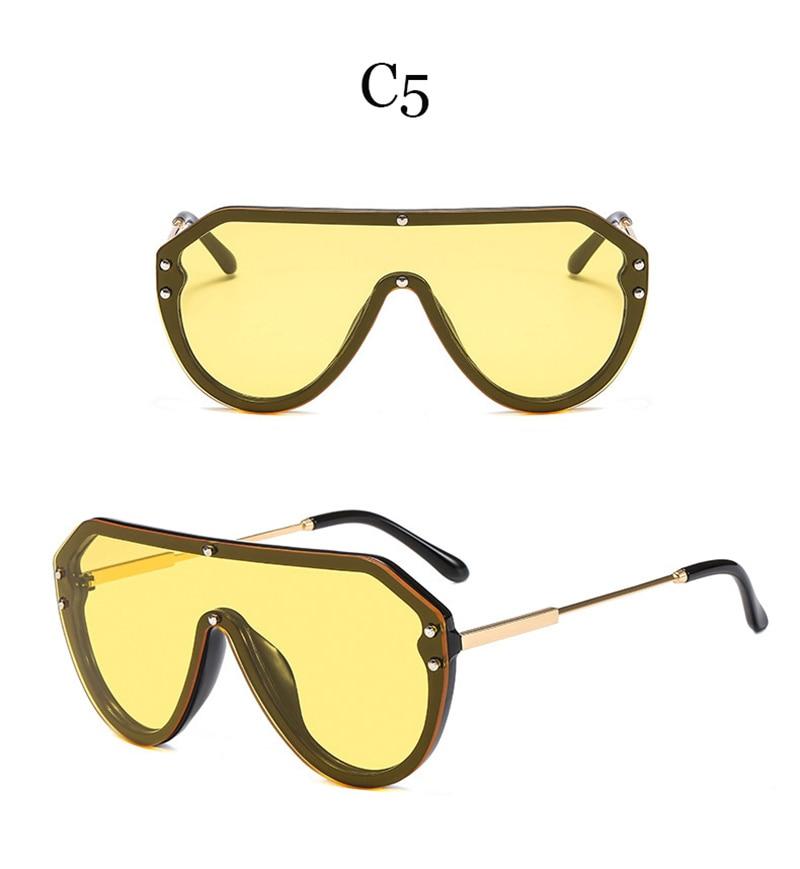 2019 New F Watermark One-piece Sunglasses PC Copy Film Men Women Sunglasses Girls Personality Colorful Fashion Wild Sun Glasse (11)