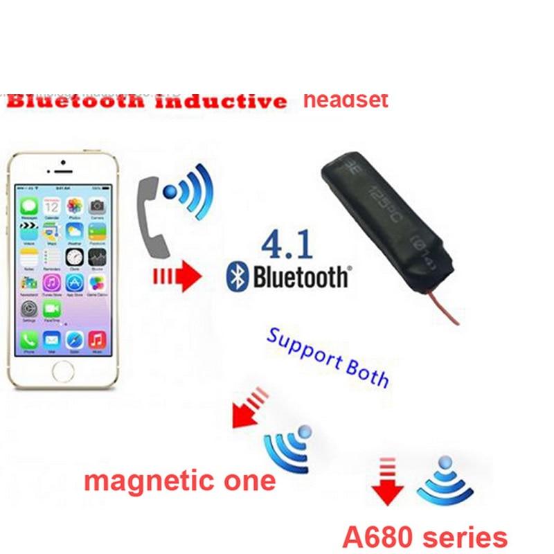 bilder für 4,1 bluetooth headset sprach sender headset sprach freihändig induktion transmitter für telefon bluetooth kopfhörer