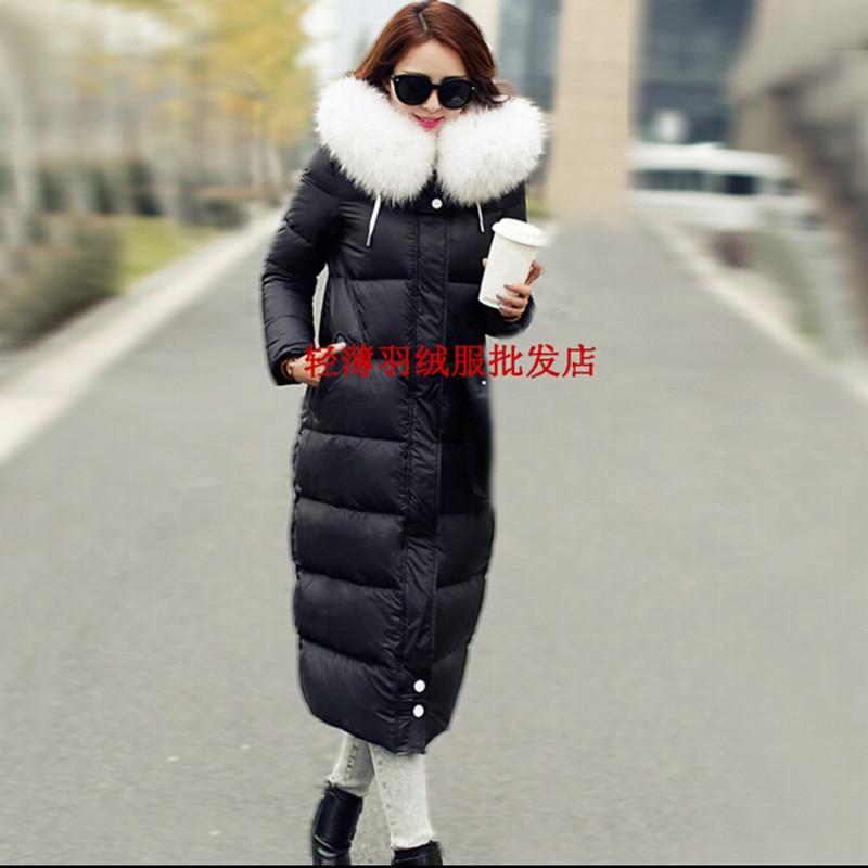 Damski dół kurtki zimowy płaszcz pogrubienie w ciąży płaszcz - Ciąża i macierzyństwo - Zdjęcie 3