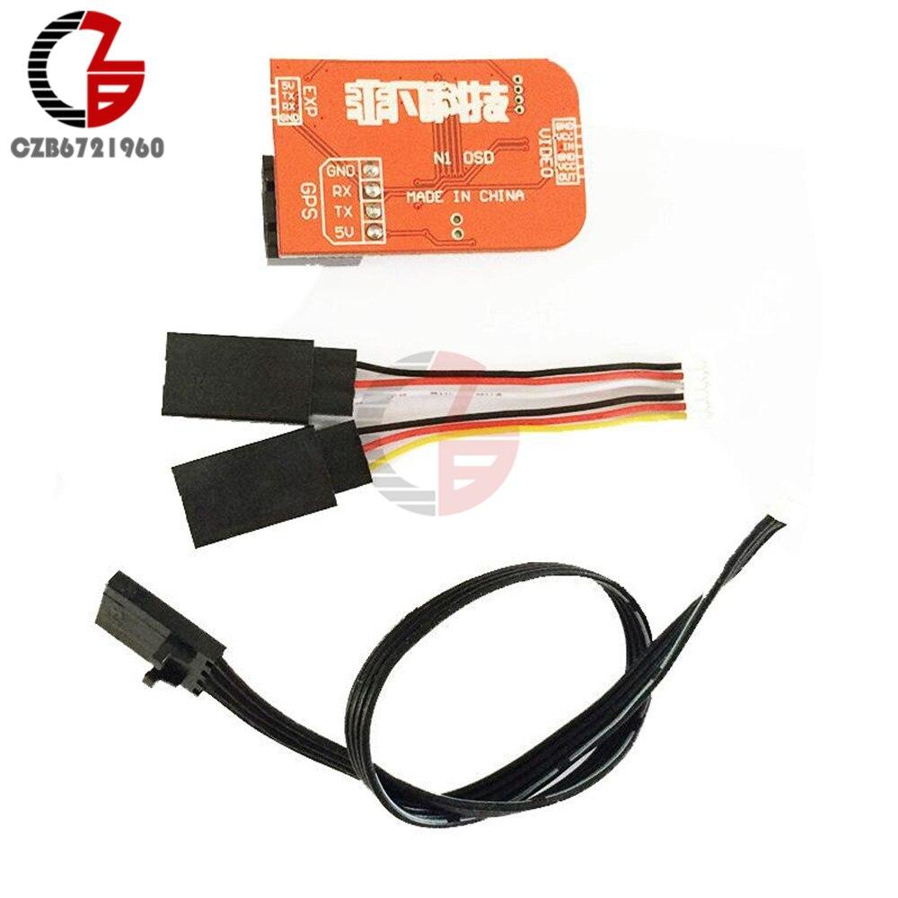 Image 3 - Mini FPV Flight Controller N1 OSD Module DIY Kit For DJI NAZA V1 V2 NAZA Lite GPS-in Instrument Parts & Accessories from Tools