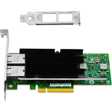 2 Ports 10Gb 10-Gigabit Ethernet Network Adapter NIC Card 10000Mbps PCI-E X8 X16
