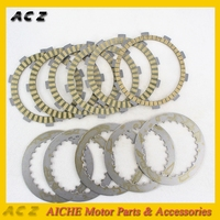 ACZ Motorcycle Engine Parts Clutch Friction Plates & Steel Plates Kit Clutch Friction For HONDA Steed 400 Steed 600 Steed400 600