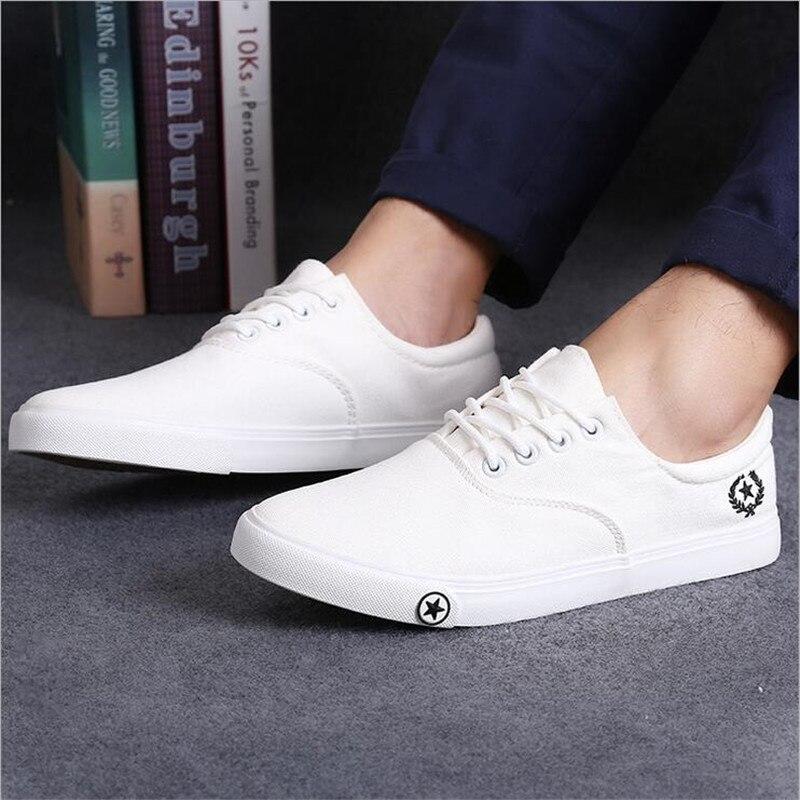 dd69becf264 2016 new men shoes new British style charm white low canvas shoes men shoes  casual shoes men sxh 140-in Men s Casual Shoes from Shoes on Aliexpress.com  ...