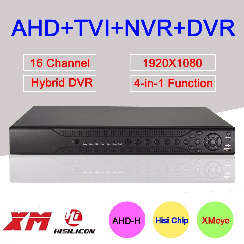 16 channels ahd dvr 1080P
