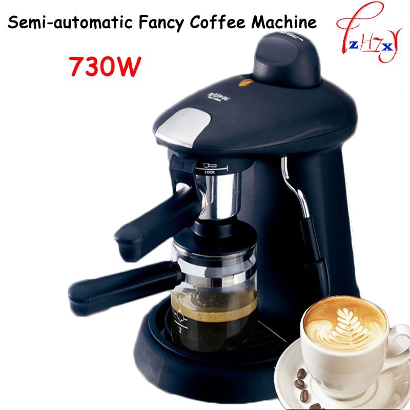 Italian Espresso Pod Coffee Maker household semi automatic fancy coffee machine 730w Commercial steam coffee pot