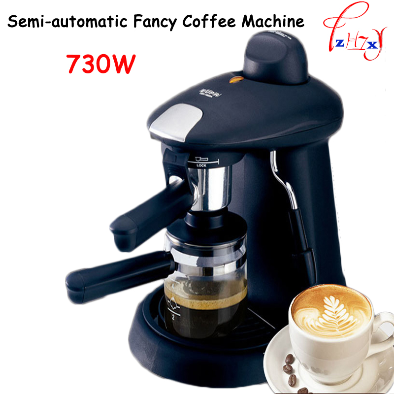 Italian Espresso Pod Coffee Maker household semi-automatic fancy coffee machine 730w Commercial steam coffee pot