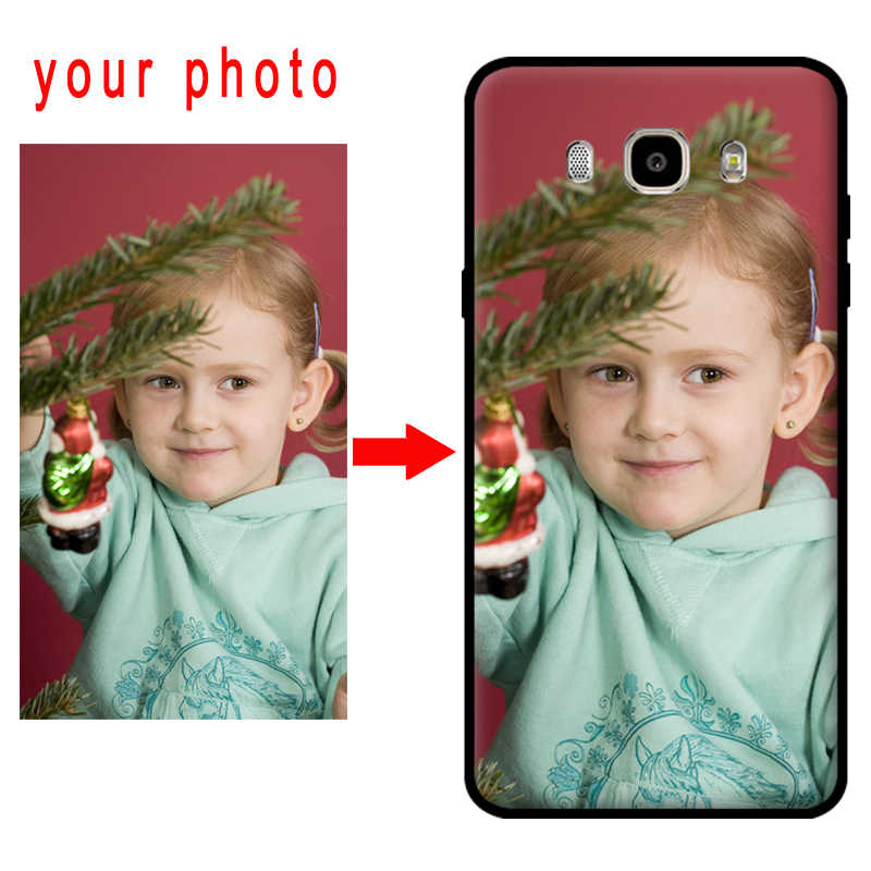 Mosirui Disesuaikan Foto Cover Nama DIY Case untuk Samsung Galaxy A10 A20 A30 A40 A50 A60 A70 A80 A90 Cover Case ponsel Shell