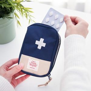Image 4 - 1 adet ilk yardım çantası ilaç çantası taşınabilir seyahat paketi acil durum uyarı kitleri seyahat seti