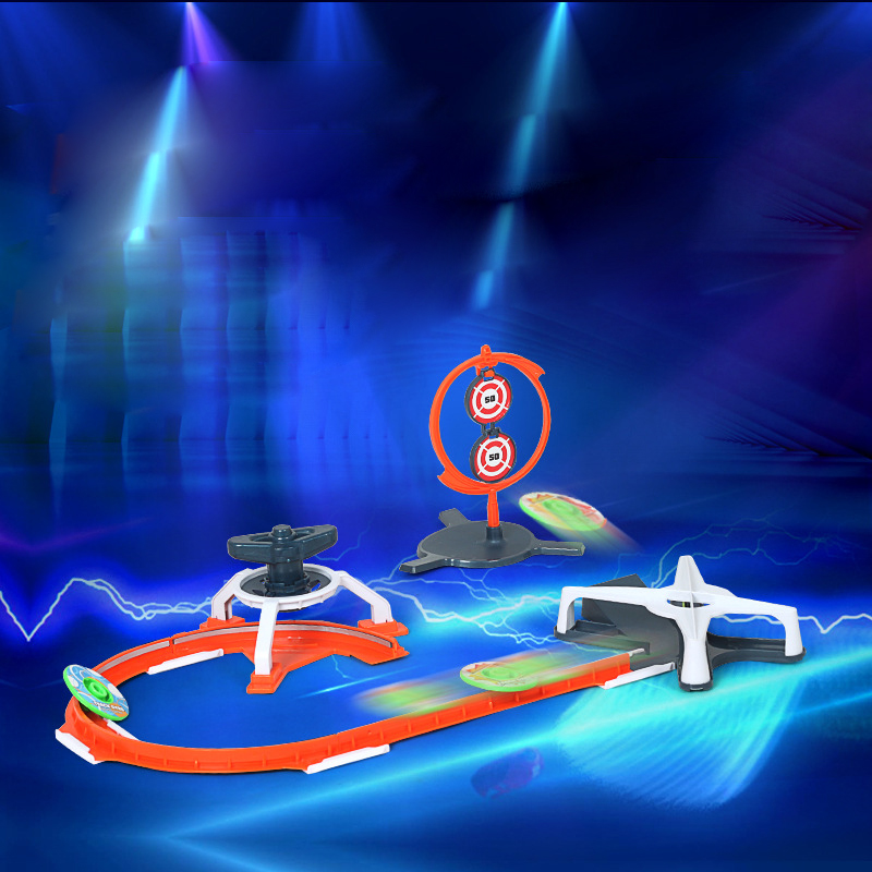 4d Track Beyblade Burst Magicial Gyroscope Flying Target 6 Gyro Battle Athletic Tracks Toupie Bayblade Arena Toys for Children