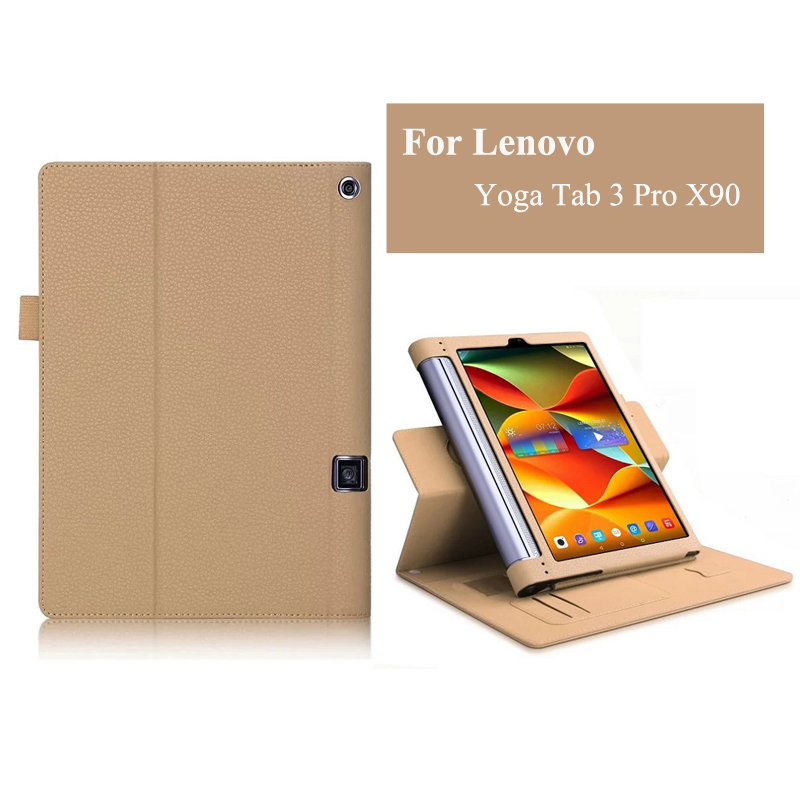 NEW YOGA Tab3 Plus YT-X703F Tab 3 Pro Flip Cover For Lenovo yoga3 pro 10.1 X90 x90l x90f Tablet Case PU Leather Case ultra slim soft silicon case for 10 1 inch lenovo yoga tab 3 pro 10 x90m x90l case for lenovo yoga tab 3 plus yt x703f