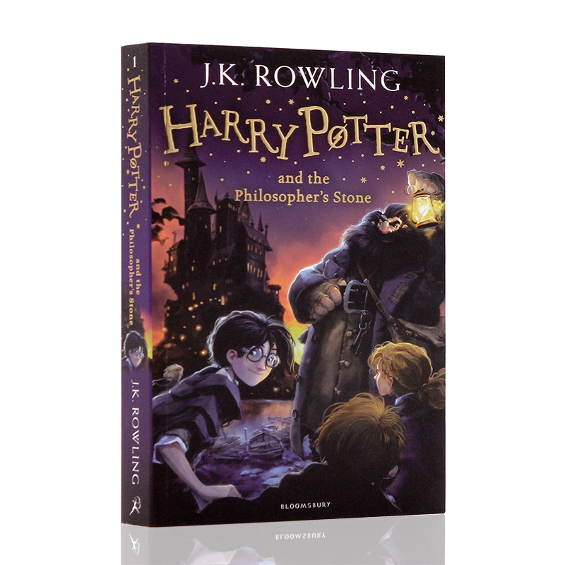 New Harry Potter And The Philosopher's Stone English Picture Books Children Story Book Early Educaction Reading Book