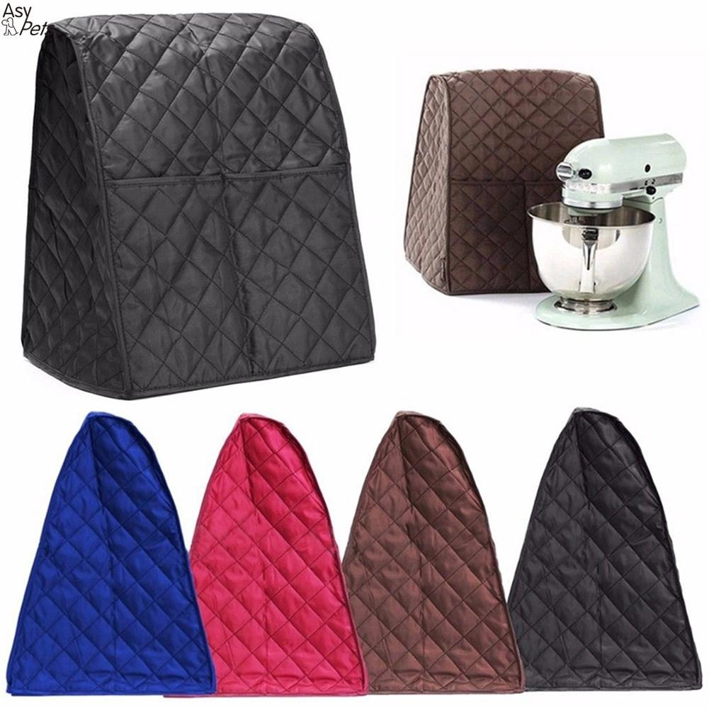 Dustproof Waterproof Cloth Quilted Blender Cover Organizer Bag For Kitchen Mixer-35