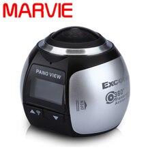 Marvie 4 K 360 D'action Caméra Ultra HD 360 Caméra WIFI 16MP Sport Action Caméra 360 Degrés Mini Panoramique Vidéo 3D VR Caméra