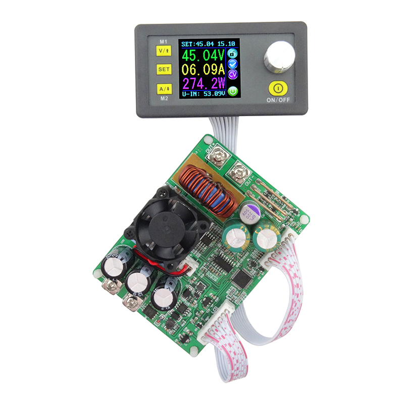 DPS5015 Constant Voltage current Step-down Programmable digital Power Supply buck Voltage converter color LCD voltmeter 15A dps3012 adjustable constant voltage step down lcd power supply module voltmeter voltage regulators stabilizers best quality