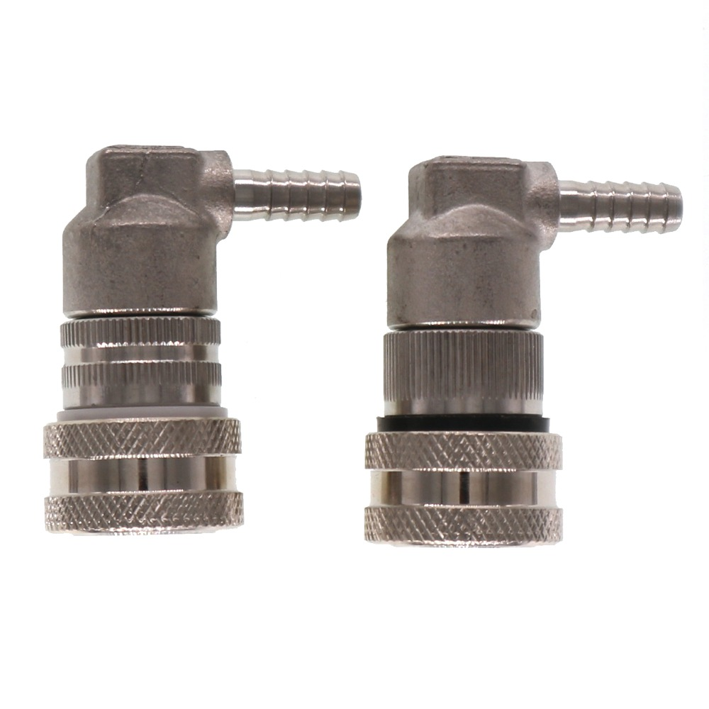 304 Stainless Steel 1/4barb Liquid and Gas Ball Lock Disconnect Cornelius Style Home Brew Beer Kegs Repair DISCONNECTS304 Stainless Steel 1/4barb Liquid and Gas Ball Lock Disconnect Cornelius Style Home Brew Beer Kegs Repair DISCONNECTS