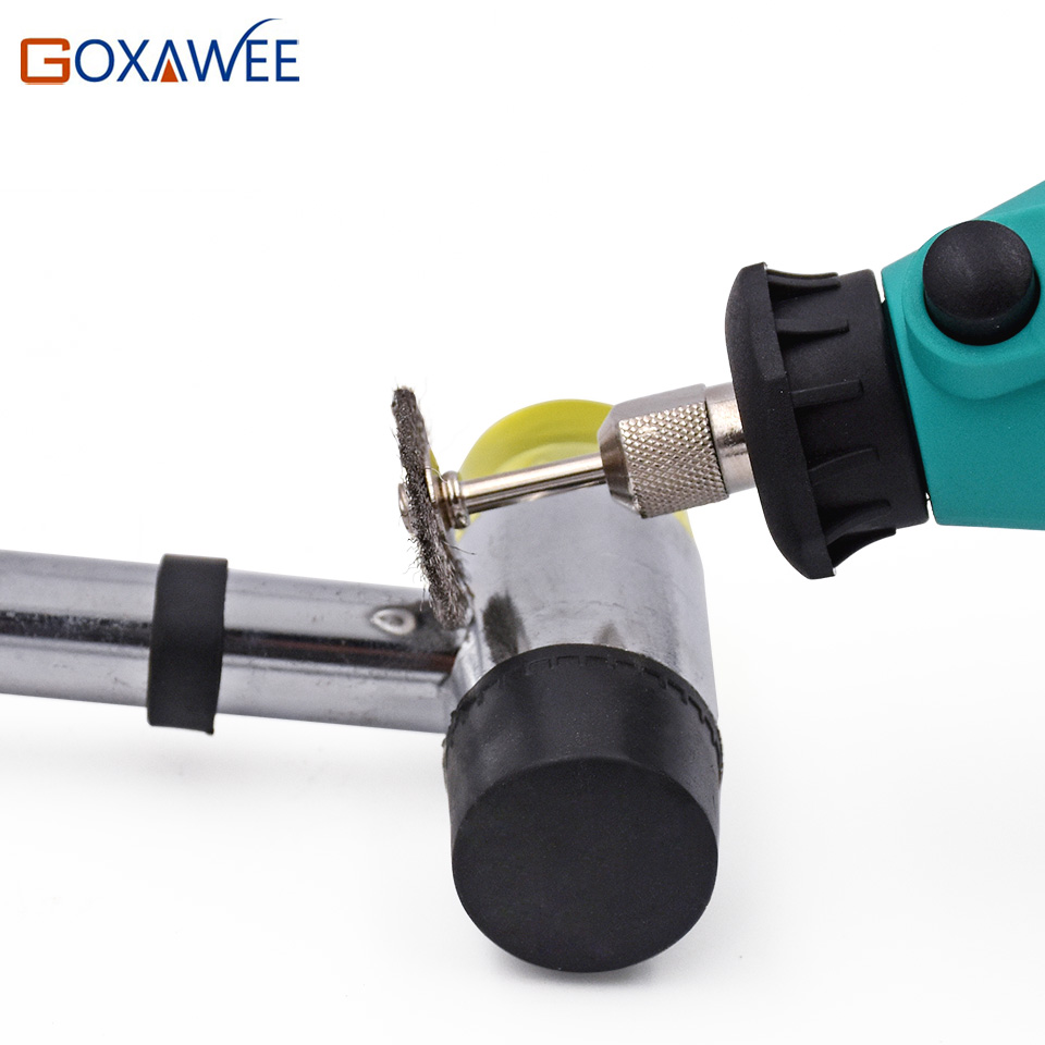 GOXAWEE Electric Mini Drill Power Tools Rotary Tools Accessories with Flex Shaft Hanger For Dremel Stype Drill Mini Grinder Tool in Electric Drills from Tools