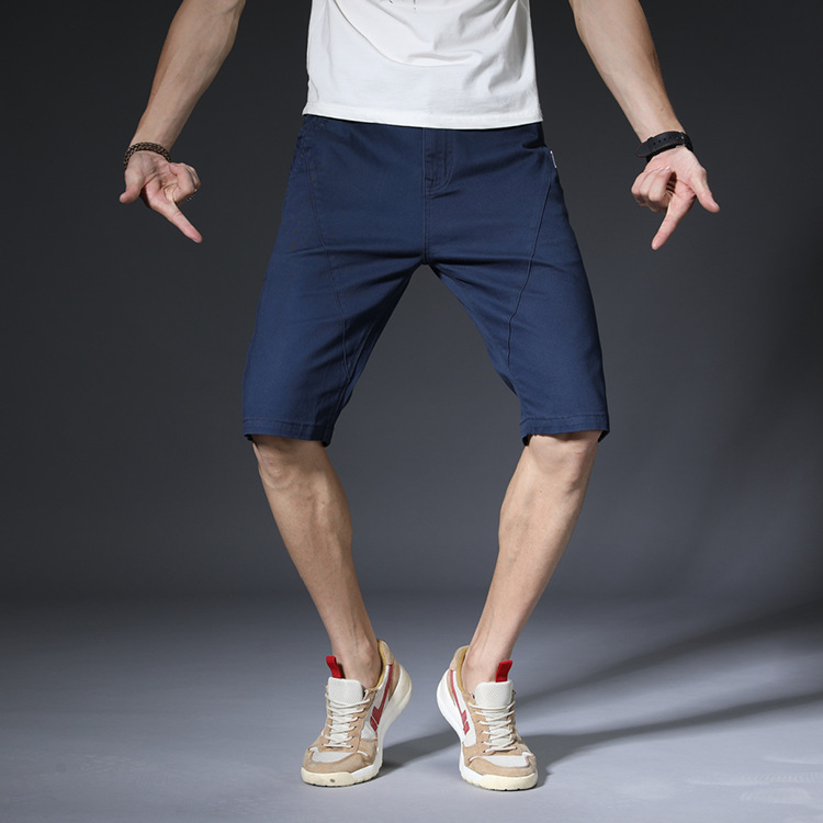 LEDINGSEN 2018 Fashion Brand Casual Green Summer Shorts Khaki Men Loose Thin Cotton Fitness Shorts Bermuda Black Plus Size 48