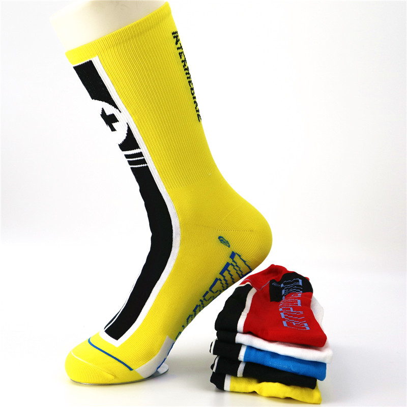 Breathable Men's Cycling Socks Stocking Coolmax Bike Running Sport Basketball Socks