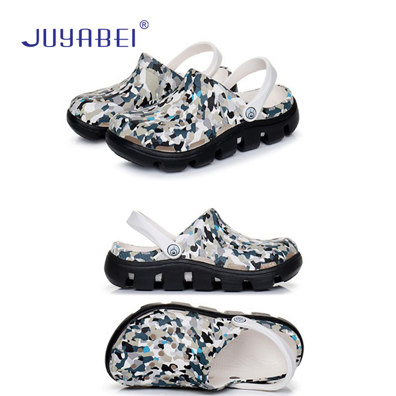 2019 Summer New Hollow Printed Thick-soled Surgeon Nurse Surgical Shoes Hospital Laboratory Beauty Salon Anti-skid Medical Shoes