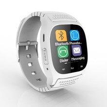 2016 mode Sport Bluetooth montre Smart Watch M26 Smartwatch étanche MTK podomètre montre – bracelet pour Android et IOS Smartphone