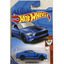 New Arrivals 2018 8J Hot Wheels 1:64 blue 18 ford mustang Car Models Collection Kids Toys Vehicle For Children hot cars