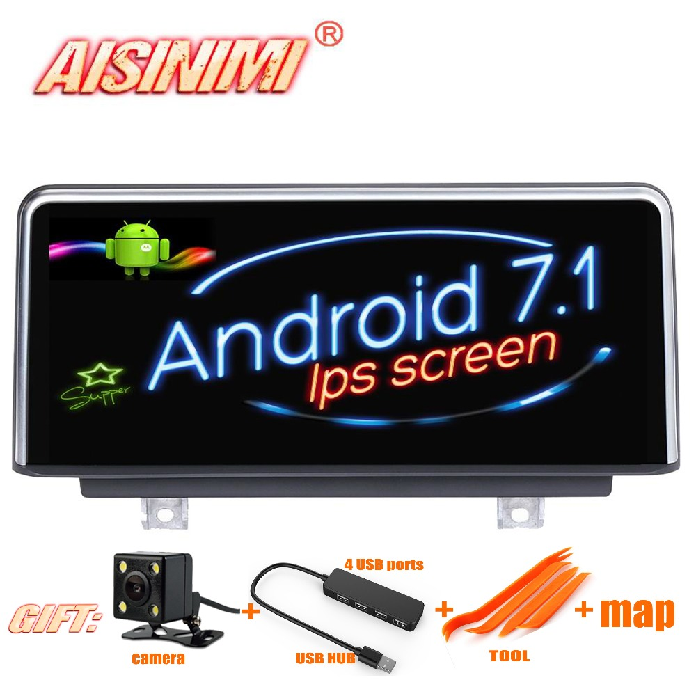 Android 7.1 Car Dvd Navi Player FOR BMW 1 Series F20/F21 FOR BMW 2 Series F23  3 Series F30 /F31/F34 audio stereo all in one