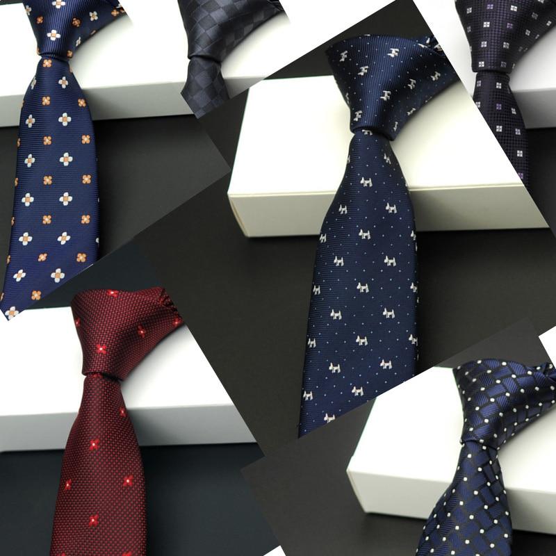 남성 2017 높은 패션 나노 방수 남성 검은 마른 목에 넥타이 슬림 넥타이 좁은 넥타이 자카드 corbata 5.5 cm 많이
