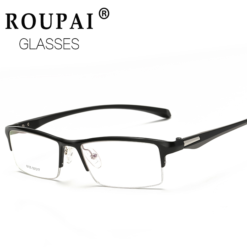 Aleación de titanio TR90 miopía gafas lentes ópticas gafas de ...