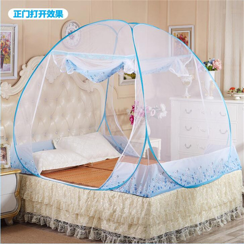 Mosquito nets for beds beautiful bed net mesh room for Bed with mosquito net decoration
