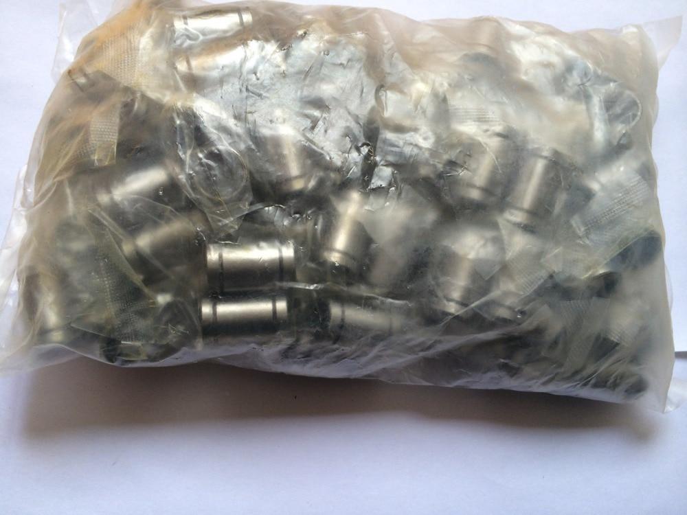 100pcs-lot Linear Bearings LM8UU 8MM RepRap Prusa Mendel DIY CNC Motion New