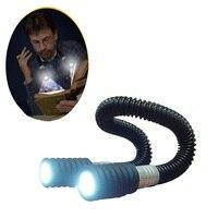 Flexible 360 Degree Adjustable 2W 24 LED Hug Ligt Neck Book Night Lamp Huglight Torch For